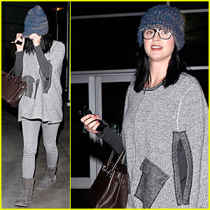 Katy Perry: 'Hunger Games: Catching Fire' Late Night Showing!