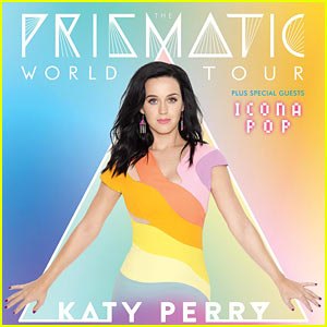 Katy Perry Reveals First 'Prismatic World Tour' Dates!