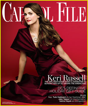 Keri Russell Covers 'Capitol File' Magazine's Holiday Issue 2013!