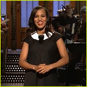 Kerry Washington: 'Saturday Night Live' Opening Monologue - Watch Now!