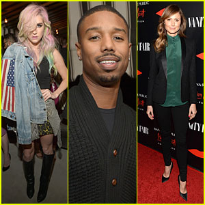 Ke$ha & Michael B. Jordan: Banana Republic L'Wren Scott Collection Launch!