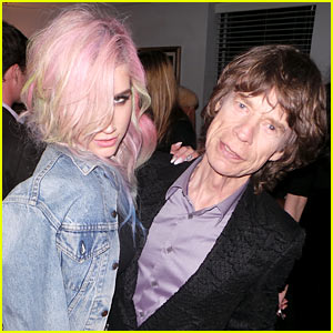 Ke$ha & Mick Jagger: Rolling Through Chateau (Exclusive Pics!)