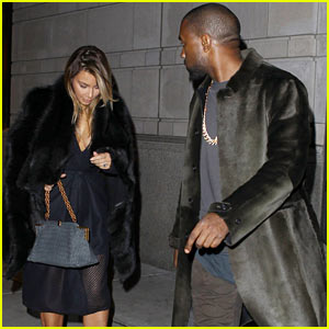Kim Kardashian & Kanye West Grab Dinner in Philadelphia!