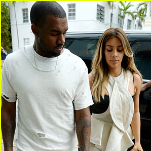 Kim Kardashian & Kanye West Shop Together on Black Friday