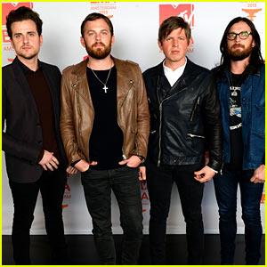 Kings of Leon - MTV EMA 2013 Red Carpet