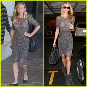 Kirsten Dunst & Rosie Huntington Whiteley: Doctor's Visit Twins!