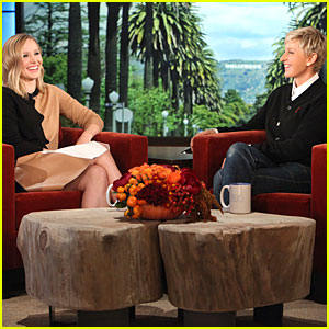 Kristen Bell Talks Pretend Sex on Wedding Day on 'Ellen'!