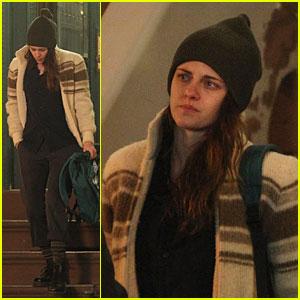 Kristen Stewart Starts Filming 'Anesthesia'!