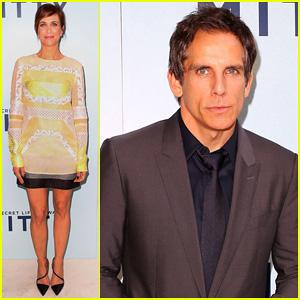 Kristen Wiig & Ben Stiller: 'Walter Mitty' Australian Premiere!