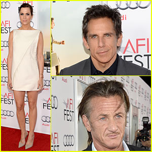 Kristen Wiig & Ben Stiller: 'Walty Mitty' AFI Fest Screening!