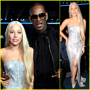 Lady Gaga is Pure Elegance for AMAs 2013 Audience Outfit