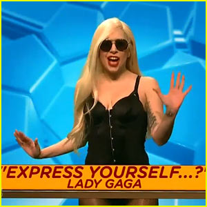 Lady Gaga Pokes Fun at Madonna Comparisons on 'SNL' (Video)