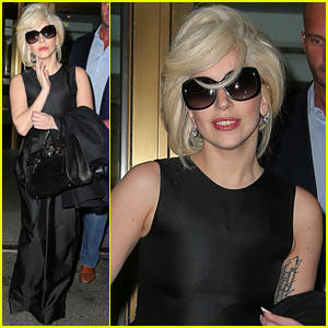 Lady Gaga Steps Out After Space Performance News!