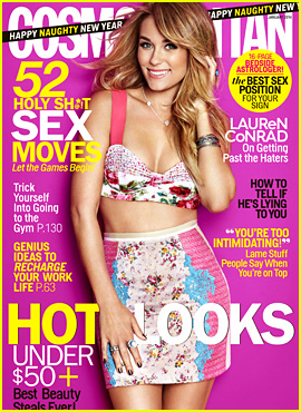 Lauren Conrad Talks Engagement with 'Cosmopolitan'