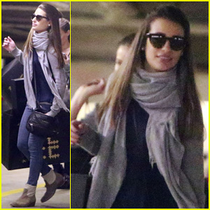 Lea Michele: Retail Therapy at Barney's!
