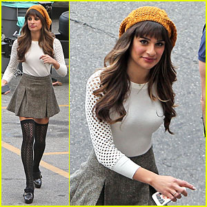 Lea Michele Shares Sneak Peek for Album Cover Shoot!