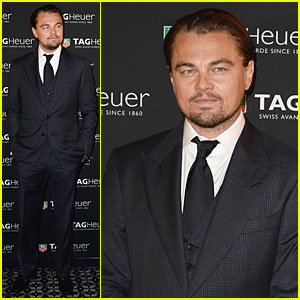 Leonardo DiCaprio: Tag Hauer Carrera Celebration!