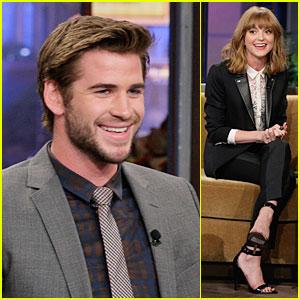 Liam Hemsworth & Jayma Mays: 'Jay Leno' Guests!