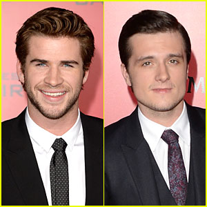 Liam Hemsworth & Josh Hutcherson: 'Catching Fire' L.A. Premiere!