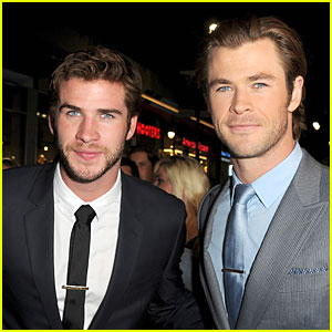 Liam Hemsworth Supports Bro Chris at 'Thor' Hollywood Premiere!