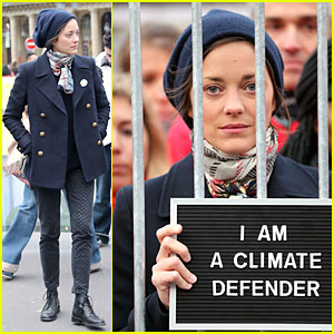 Marion Cotillard: Greenpeace Protester for Arctic 30 Release!