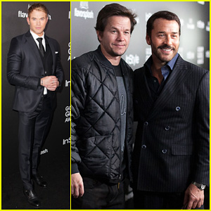 Mark Wahlberg & Kellan Lutz: HFPA InStyle Party!