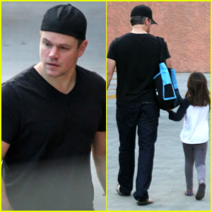 Matt Damon: Pacific Palisades with Gia!