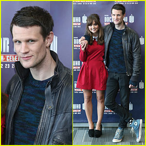 Matt Smith & Jenna Coleman: 'Doctor Who' 50th Celebration!