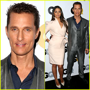 Matthew McConaughey: GQ Men of the Year Party 2013!