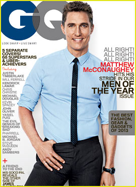 Matthew McConaughey & More Get 'GQ' Men of the Year Covers
