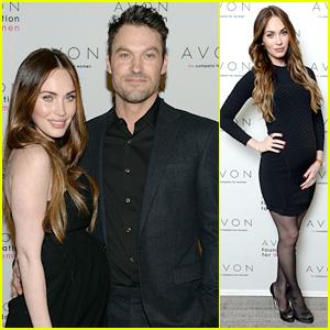 Megan Fox & Brian Austin Green: Avon's #SeeTheSigns Launch