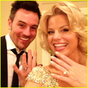 Megan Hilty: First Wedding Photo with Brian Gallagher!