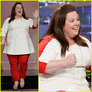 Melissa McCarthy Talks 'Elle' Jacket-Gate on 'Leno'!