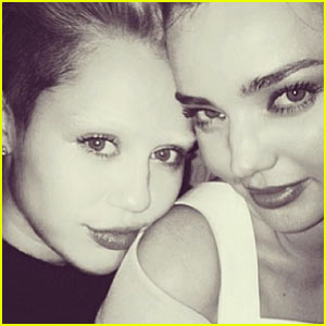 Miley Cyrus Debuts Bleached Eyebrows Look for Night Out!