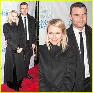 Naomi Watts & Liev Schreiber: Children At Heart Gala Dinner!