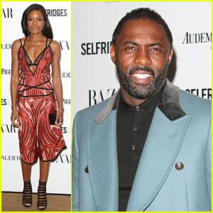 Naomie Harris & Idris Elba Win at Harper's Bazaar Women of the Year Awards!
