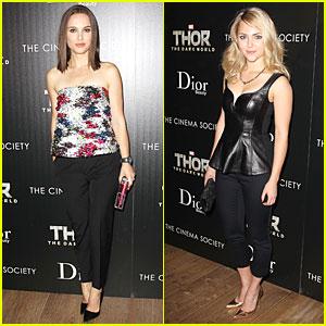 Natalie Portman & AnnaSophia Robb: 'Thor' NYC Screening!