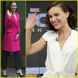 Natalie Portman Promotes 'Thor' on 'GMA', Movie Out Tomorrow!