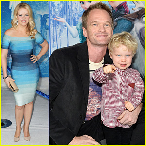 Neil Patrick Harris: 'Frozen' Premiere with The Family!