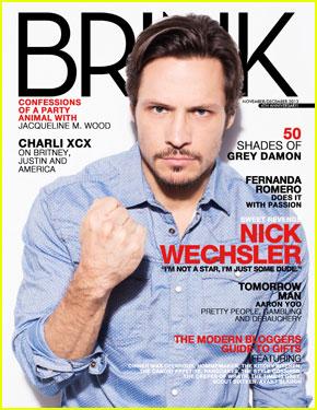 Nick Wechsler Covers 'Brink' November/December 2013