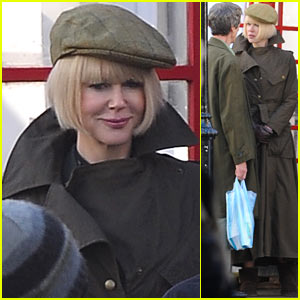 Nicole Kidman Continues Filming 'Paddington' in London!