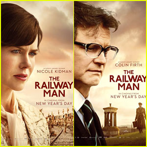 Nicole Kidman & Colin Firth: 'Railway Man' Posters & Trailer