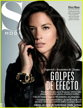 Olivia Munn Covers 'S Moda' Magazine November 2013