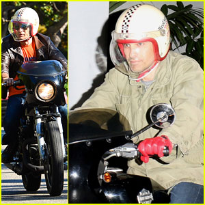 Olivier Martinez: L.A. Motorcycle Man!