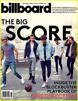 One Direction Covers Billboard, Discusses the Band's Future!