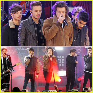One Direction Perform Hit Songs on 'GMA' (Videos)!