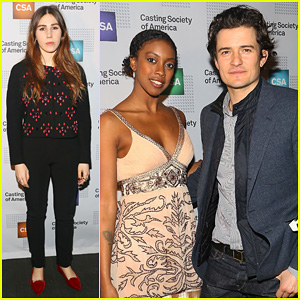 Orlando Bloom & Zosia Mamet: Artios Awards Ceremony 2013!