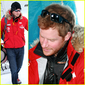 Prince Harry Debuts Beard for South Pole Trip