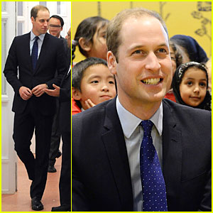 Prince William: South & City College Birmingham Visit!