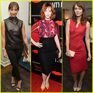 Rashida Jones & Christina Hendricks: Banana Republic L'Wren Scott Collection Launch!